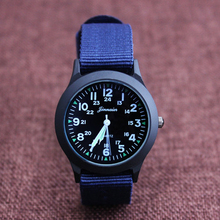 2018 JINNAIER new famous brand men children boys fashion cool quartz Saber watches students canvas electronic Wrist watch(China)