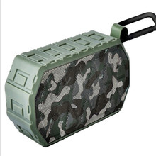 portable dust/water/shock proof bluetooth sub woofer speaker with line in  and hands-free phone call