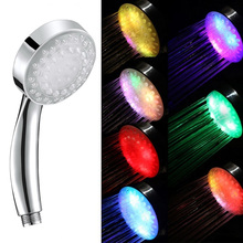 7 Colour Automatic Changing LED Shower Head Sprinkler Faucet Water Current Energy HG99
