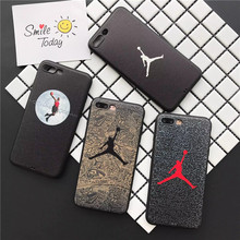 Built Magnetic Car Holder Metal Plate Coque Fundas for iPhone 7 6 6S 8 Plus X Case One Piece Luffy Soft Air Jordan Phone Cover(China)