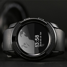 Q9 Bluetooth smart watch sports watch watch support MP3 SIM / TF card camera for Samsung Android phone PK GT08 T55(China)