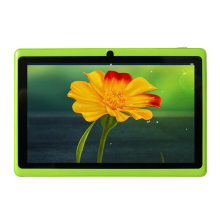 "Yuntab 7"" Tablet Allwinner A33 Quad Core Android 4.4 Tablet 8GB Dual Cam OTG WIFI Google APP Play Green Color Hot Sale"