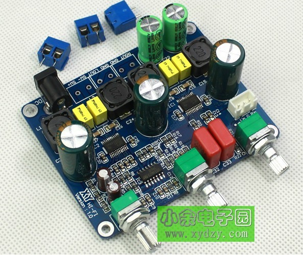 Freeshipping TPA3123 2.1 digital power amplifier boards<br>
