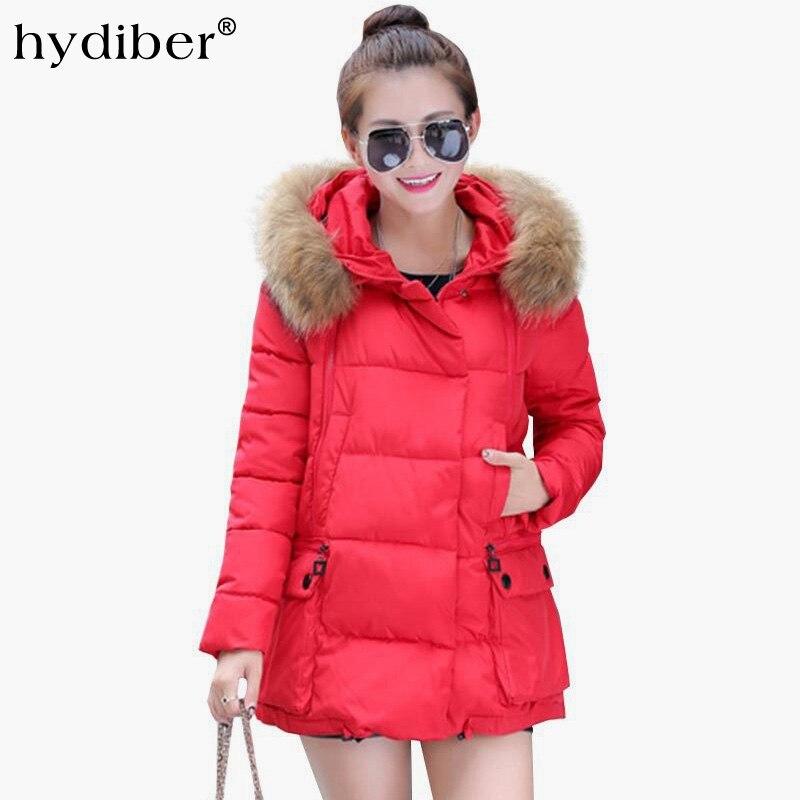 2017 New Brand Fashion Hooded Winter Jacket Women Cotton Hooded Womens Long Sleeve Basic Coat Casual Slim Solid ParkasÎäåæäà è àêñåññóàðû<br><br>