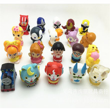 2017 new,10 pcs/set, yokai watch tomas train marvel toy for children cartoon anime action figure toy,best gift for children,48