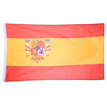 90*150cm Spanish Flag Polyester the Spanish  National Flag Banner  for Festival the world cup Home Decoration
