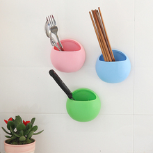 Toothbrush Holder Toothbrush Suction Cups Double Wall Suction Cup Sink Shelf Rack Kitchen Sucker Storage Bathroom Set Organizer