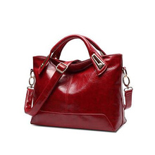 Brand New Fashion Women Lady Patent Leather Messenger Shoulder Bag Crossbody Bags Casual Handbags Large Capacity Solid Zipper