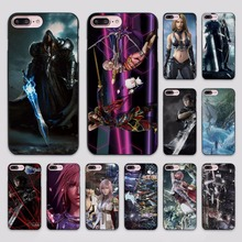 Advent Children Final Fantasy design hard black Case Cover for Apple iPhone 7 6 6s Plus SE 5 5s 5c 4 4s(China)