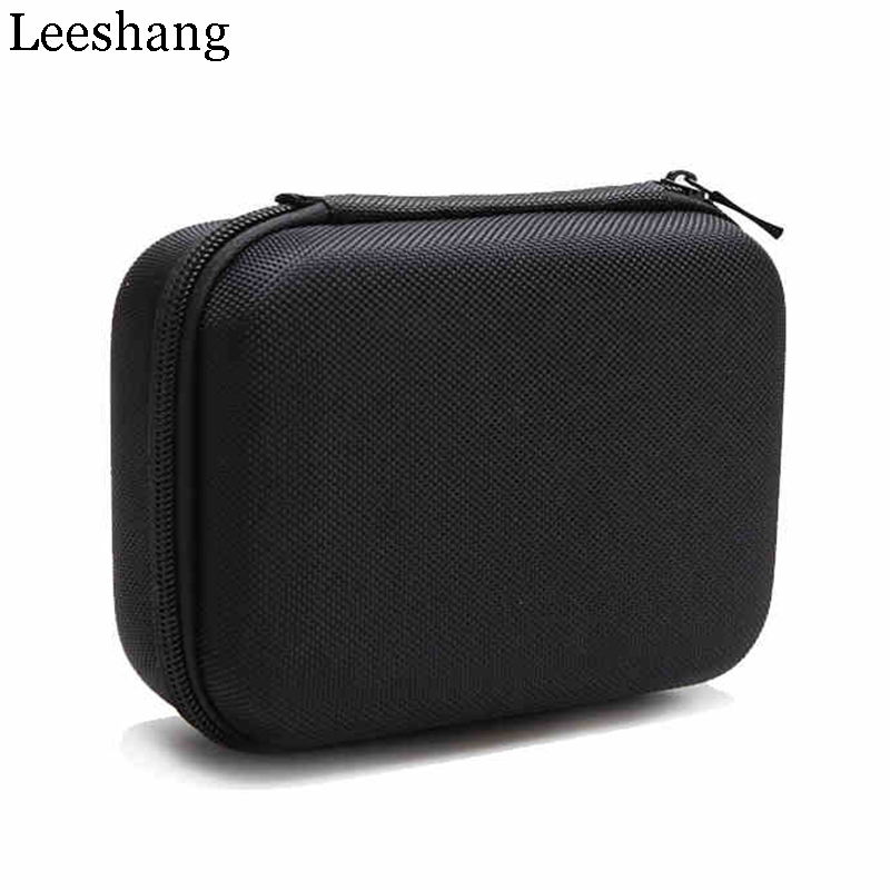 "Fashion Case Bag For 2.5"" Hard Drive Disk HDD SSD Storage Pouch Bag For Mouse Cables Data Lines Headset Travel Packing Organizer(China)"