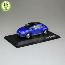 1:43 Scale VW Volkswagen beetle Diecast Car Model Toys deep blue(China)