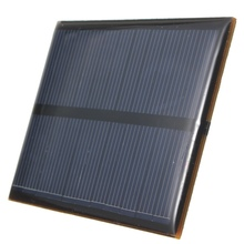 High Quality 5.5V 0.66W Mini Solar Cells 120mAh Monocrystalline Silicon Solar Panel Module Battery Phone Charger DIY