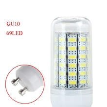 Low Price Selling Cool White 110V 12W Bright Energy Saving GU10 5730SMD 69LED Corn Light