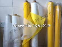 free shipping 3 meters width 1.65 meter DPP 300mesh count(120T) fabric , screen printing material, screen mesh white color