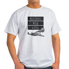 new Neutral Milk Hotel Flying Phonograph / Gramophone - 100% Cotton T-Shirt, Crew Neck, Comfortable and Soft Classic Tee