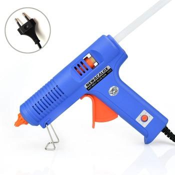 150 Вт ЕС Вилку Термоклей Пистолет с Бесплатным 1 шт. 11 мм Stick Heat Температура Промышленного Инструмента Пушки Термо Клеевым Пистолетом Ремонт инструменты Тепла