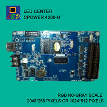 LED CENTER CPOWER 4200 USB PORT SEND DATA CONTROL CARD LED SIGNS BOARD lumen single Monochrome double color controller(China)