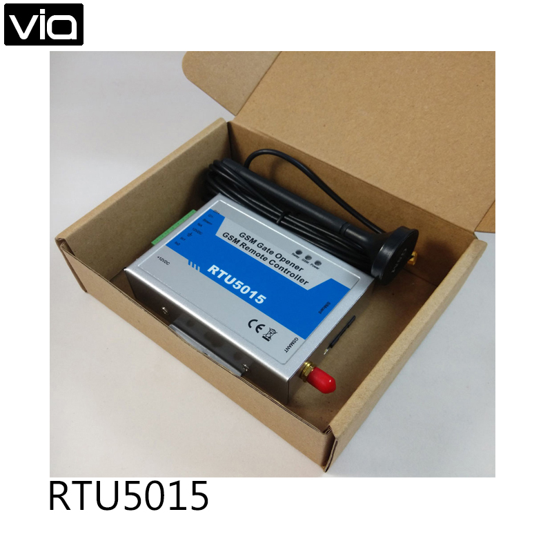 RTU5015 WAFER Free Shipping GSM Gate Door Opener Up to 999 Authorized number Operator 1 Output/2 Inputs<br>