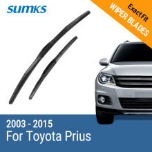 "Buy SUMKS Wiper Blades Toyota Prius 26""&16"" Fit Hook Arms 2003 2004 2005 2006 2007 2008 2009 2010 2011 2012 2013 2014 2015 for $11.38 in AliExpress store"
