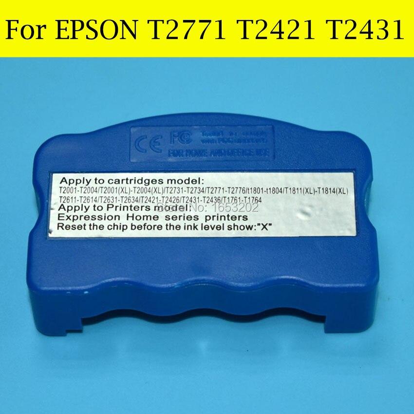 1 PC Resetter T2771-T2776 T2771XL T242 T2421-T2426 T243 T2431-T2436 For Epson XP-850 XP-950 XP-750 XP-760 XP-860 Printer<br><br>Aliexpress
