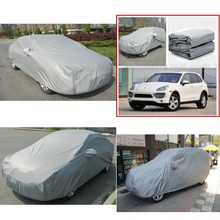 Free Shipping Multi size Full Car Cover Breathable UV Protection Outdoor Indoor Shield Car Covers Protectors Car Accessories(China)