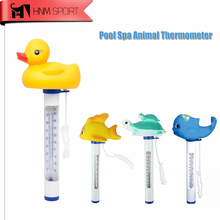 Cute Animal Floating Spa and Pool Thermometer Shatter Resistant for All Outdoor & Indoor Swimming Pools/Spas/Hot Tubs/Aquariums