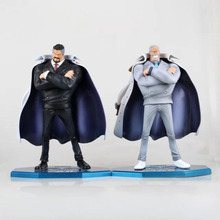 25cm Anime One Piece Marine Hero Vice Admiral Monkey D. Garp PVC Action Figure Collection Model Toys Doll(China)