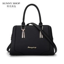 SUNNY SHOP Korean Fashion Ladies Hand Bags Designer Bags Women Bag High Quality PU leather Shoulder Bags BOX PACKED
