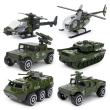 1:87 scale Modern military City police fire Vehicle diecast armor car helicopter tank Jeep ladder truck metal model Collection
