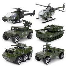 1:87 scale Modern military City police fire Vehicle diecast armor car helicopter tank Jeep ladder truck metal model Collection(China)