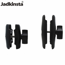 Jadkinsta 65 or 95mm Double Socket Arm used with 1 Inch Ball Bases and Holder mount for Gopro Camera Smartphone for Ram Mount(China)