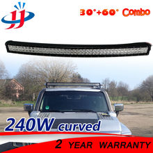 42inch 240w Curved LED Light Bar Flood Spot Driving Lamps Off road Boat Car Truck 4x4 SUV ATV Utility vehicle 12V 24V Waterproof