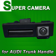 For Audi A4 S4 A5 S5 Q5 A6L A8L VW Tiguan Touareg Octavia Porshce New Cayenne 958 Car Backup Parking Camera Trunk handle