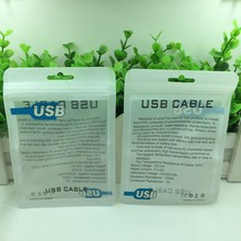 Wholesale 10.5x15cm Plastic zipper Retail Packaging bag,poly opp bag for USB cell phone cable package bags 2000pcs/lot