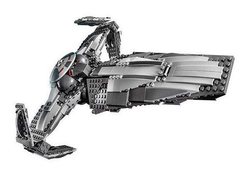 LEPIN 05008 Star Starfighter Series Sith Infiltrator 75096 Building Blocks 698pcs Bricks Toys Gift For Children<br>