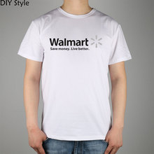 COMPANY Walmart T-shirt cotton Lycra top 10718 Fashion Brand t shirt men new DIY high quality