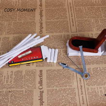 COSY MOMENT New Tobacco Pipe Cleaners Set Pipe Rack Holder/Filter/3 in 1/Silver Screen /Mouthpiece smoking pipe tools set YJ179