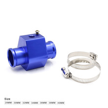 MR Water Temp Gauge Radiator Temperature Water Temp Joint Pipe Sensor 40mm/38mm/36mm/34mm/32mm/30mm/28mm Hose Adapter