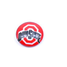 University Football Jewelry NCAA Ohio State Buckeyes Floating Charms for Glass Floating Charms Locket Fashion 2017