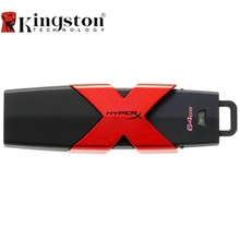 Kingston HyperX Savage USB3.1 Flash Drive Pen Drive 64 GB 128 GB 256 GB 512 GB Memory Stick 350MB/s Read Speed High Speed(China)