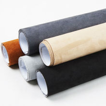Carbins big pile fabric with self adhesive fabric film for car interior DIY styling 5 meters roll 7 colors(China)