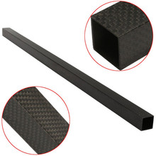 Activity Activity 20mm x 20mm x 600mm 3K Black Carbon Fiber Square Tube Pipe For RC Toys Models Quadcopter Multirotor Parts