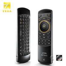 Rii mini i25A 2.4G Mini Wirless Remote Control Air Fly Mouse With Earphone Jack For MINI PC HTPC Smart Android TV Box