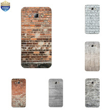 for Samsung Galaxy A7 2015 TPU Phone Case for A3 A5 A8 2015 Shell Transparent for A300 A500 A700 A800 Cover Brick Pattern