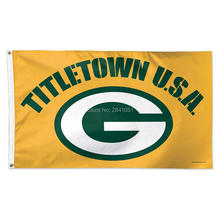 7 Color Green Bay Packers G Allegiance Helmet Team American Outdoor Indoor Football College Flag 3X5 Custom USA Any Hockey Flag(China)