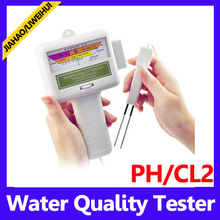 swimming pool test kits pool water testing Swimming Pool Spa PH/CL2 Chlorine Water Tester Meter PH Meters(China)