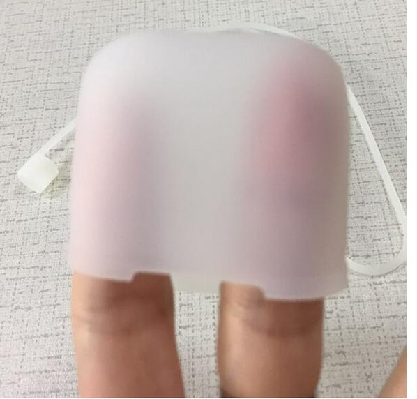 Silicone Earphone case for Apple AirPods Bluetooth Wireless Earphones Waterpoof Protect Storage Bag