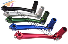 Aluminum gear lever for dirt bike, dirt bike spare parts, brake system free shipping!