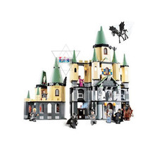 New 1033Pcs Lepin 16029 Harry Potter Hogwarts Castle Model Building Kits Blocks Bricks Toy For Children Gift Compatible 5378