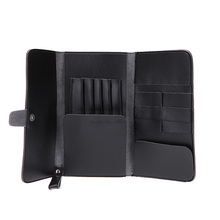 NEW Leather Hair Scissor Bags Case Waist Pack Pouch Holder Hair Styling Tools Hairdressing Tools Accessories(China)